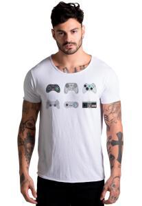 Camiseta VideoGame Branca | R$25