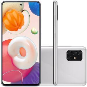 Celular Samsung Galaxy A51 Cinza 128GB | R$ 1519