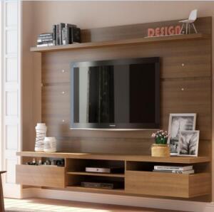 Painel para TV até 65 Polegadas Madesa Moscou 220 cm 2 portas | R$620