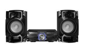 Mini System Panasonic AKX520LBK - 580W   R$998
