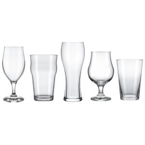 Conjunto de Copos para Cervejas Especiais Nadir – 5 Peças | R$40