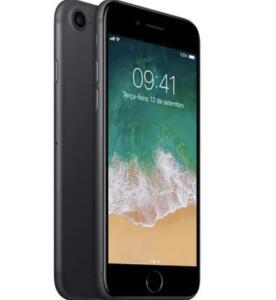 iPhone 7 Apple Preto Matte 32GB | R$1999