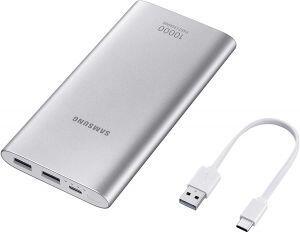 Bateria Externa Samsung 10.000MAh Carga Rápida USB Tipo C   R$80