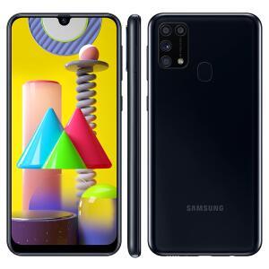 Smartphone Samsung Galaxy M31 Preto 128GB, 6GB RAM | R$1.599