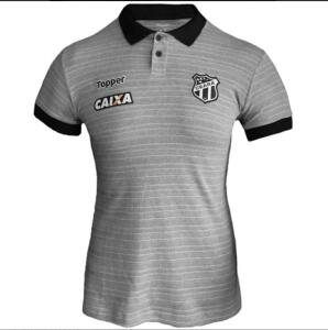 Camisa Polo Topper Ceará Viagem 2018 Feminina - Cinza | R$ 24