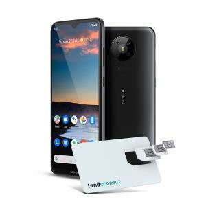 Smartphone Nokia 5.3 128GB Dual SIM, 4GB RAM, - Preto NK008 | R$1.519