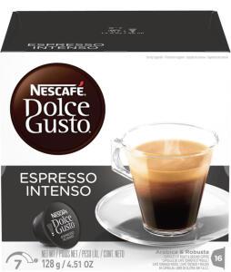 16 Cápsulas Dolce Gusto de espresso intenso