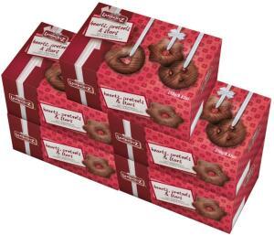 [PRIME] Pão de Mel Importado Alemão Lambertz – 5 Caixas de 250g – Schokoladen Lebkuchen - R$ 113