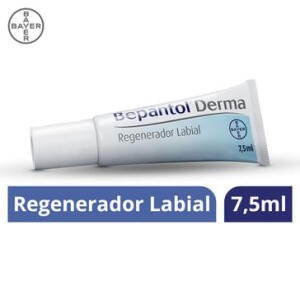 Regenerador Labial Bayer Bepantol Derma 7,5ml - R$15