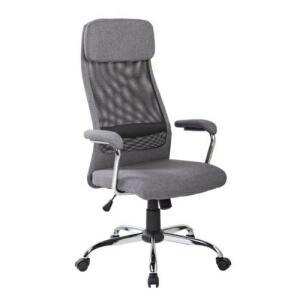 Cadeira De Escritório Presidente Pelegrin Pel-9025 Cinza | R$ 732