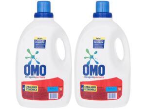 Sabão Líquido Omo lavagem perfeita 10L (5L 2 unidades) | R$ 70