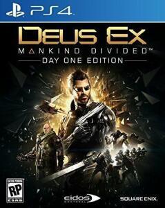 Deus Ex Mankind Divided Ps4 | R$ 40