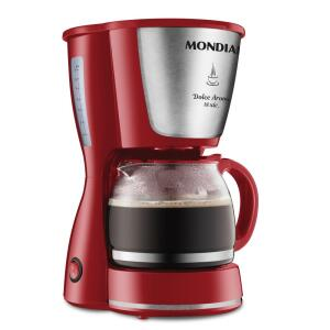 Cafeteira Mondial Dolce Arome Inox 18x 220V | R$83