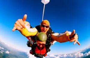 (Rio de janeiro) Skydive Rio Paraquedismo: Salto Duplo de Paraquedas com Aula Teórica