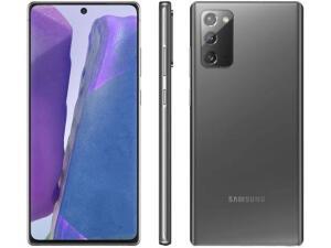"""Samsung Galaxy Note20 256GB, 8GB RAM, Tela Infinita de 6.7"""", Câmera Tripla, Caneta S-Pen, Android 10 e Processador Octa-Core"""