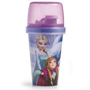 Garrafa com Copo Frozen - 320 ml | R$5,19