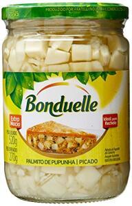 Palmito Pupunha Picado, Bonduelle, 520 g | R$ 20