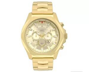 Relógio Masculino Technos Analógico Legacy-JS26AM/4X Dourado R$381
