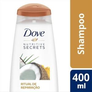 Shampoo Dove 400 ml vários tipos - R$10