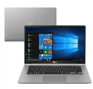 Notebook LG Gram, Intel Core i5-8250U, 8GB, SSD 256GB, Windows 10 Home, 14´ - R$4600