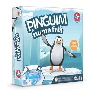 [PRIME] Jogo Pinguim Numa Fria - Brinquedos Estrela R$44