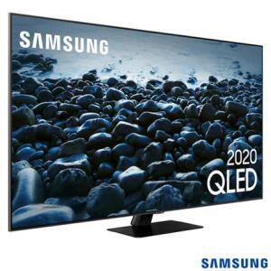 """Smart TV QLED 55"""" 4K Samsung 55Q80T Pontos Quânticos, Modo Game, Som em Movimento, Alexa Built in"""