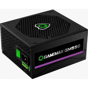 Fonte Gamemax GM550 550W, 80 Plus Bronze, PFC Ativo, Black R$350