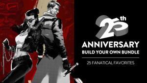 Promoção de aniversário 25 anos fanatical a partir de 1 US$