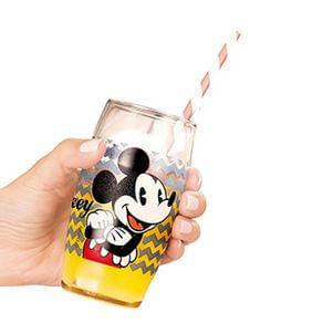 Copo de vidro Disney Charme Minnie - 300ml | R$6