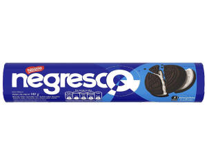 [APP/ DINHEIRO DE VOLTA] Biscoito recheado Negresco - 140g   R$ 1,09