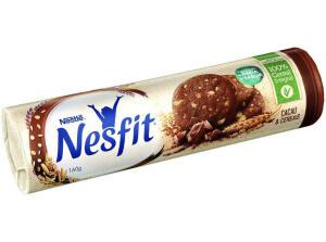 [APP/ DINHEIRO DE VOLTA] Biscoito Nesfit - Cacau e cereal - R$ 160g | R$ 1,69