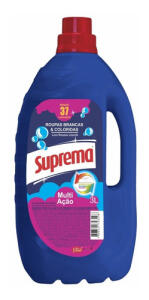 Lava Roupas Concentrado Azul Suprema 3l