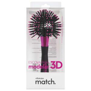 Escova para Modelar 3D Match | R$ 20