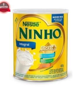(Selecionados) LEITE EM PO INTEGRAL NINHO - 400G R$8