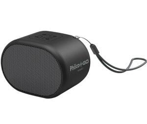 [CC Americanas R$ 79,99] Caixa de som Bluetooth Philco Go Speaker Pbs05bt