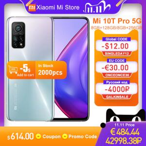 [11/11] Smartphone Xiaomi Mi 10t 256GB + 8GB RAM R$2.758