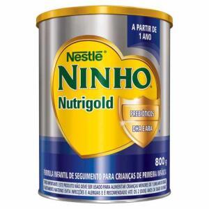 Duas latas de ninho nutrigold 800g - R$64