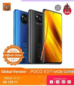 [11/11] Xiaomi Poco X3 NFC 6Gb/64Gb R$129