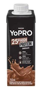 [Prime] 5 Unidades Bebida Láctea com 25g de Proteína Chocolate Yopro 250ml R$23