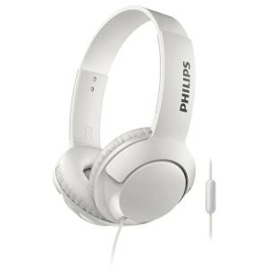 [BLACK FRIDAY] Fone de Ouvido Philips Bass+ SHL3075WT/00 com Microfone – Branco - R$69