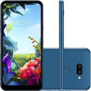 "Smartphone LG K40s 32GB Dual Chip Android 9 Tela 6.1"" Octa Core 2.0GHz 4G Câmera 13+5MP - Azul R$809"