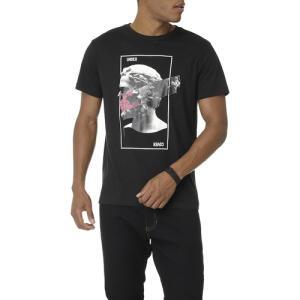 T-shirt masculina busto caveira - M - R$14