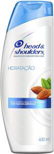Shampoo De Cuidados Com A Raiz Head & Shoulders Hidratação Com Óleo De Amêndoas 400Ml | R$ 17