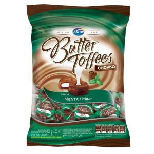 [Selecionados] 11 Pacotes Bala Butter Toffees 100g-pc Chokko Menta | R$ 30
