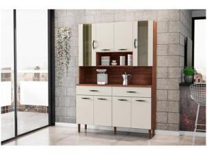 Cozinha Compacta Kits Paraná Golden 8 - 8 Portas 2 Gavetas | R$ 390