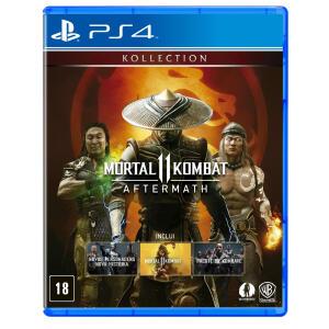 Mortal Kombat 11: Aftermath Br [PS4]   R$ 160