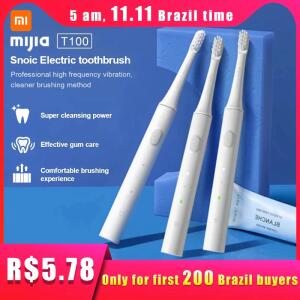 [11/11] Escova De Dente Eletrica Xiaomi Miija Sonic R$72