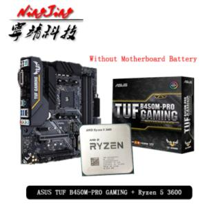AMD Ryzen 5 3600 + Asus tuf B450B Pro | R$1.681