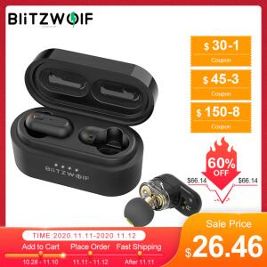 Fone de Ouvido Bluetooth Blitzwolf® BW-FYE7 TWS   R$159