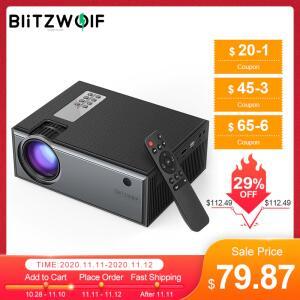[11/11]Projetor VP1 BlitzWolf 2800 lumens 720P | R$419